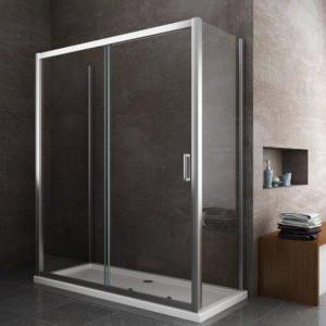 box doccia rettangolare porta scorrevole