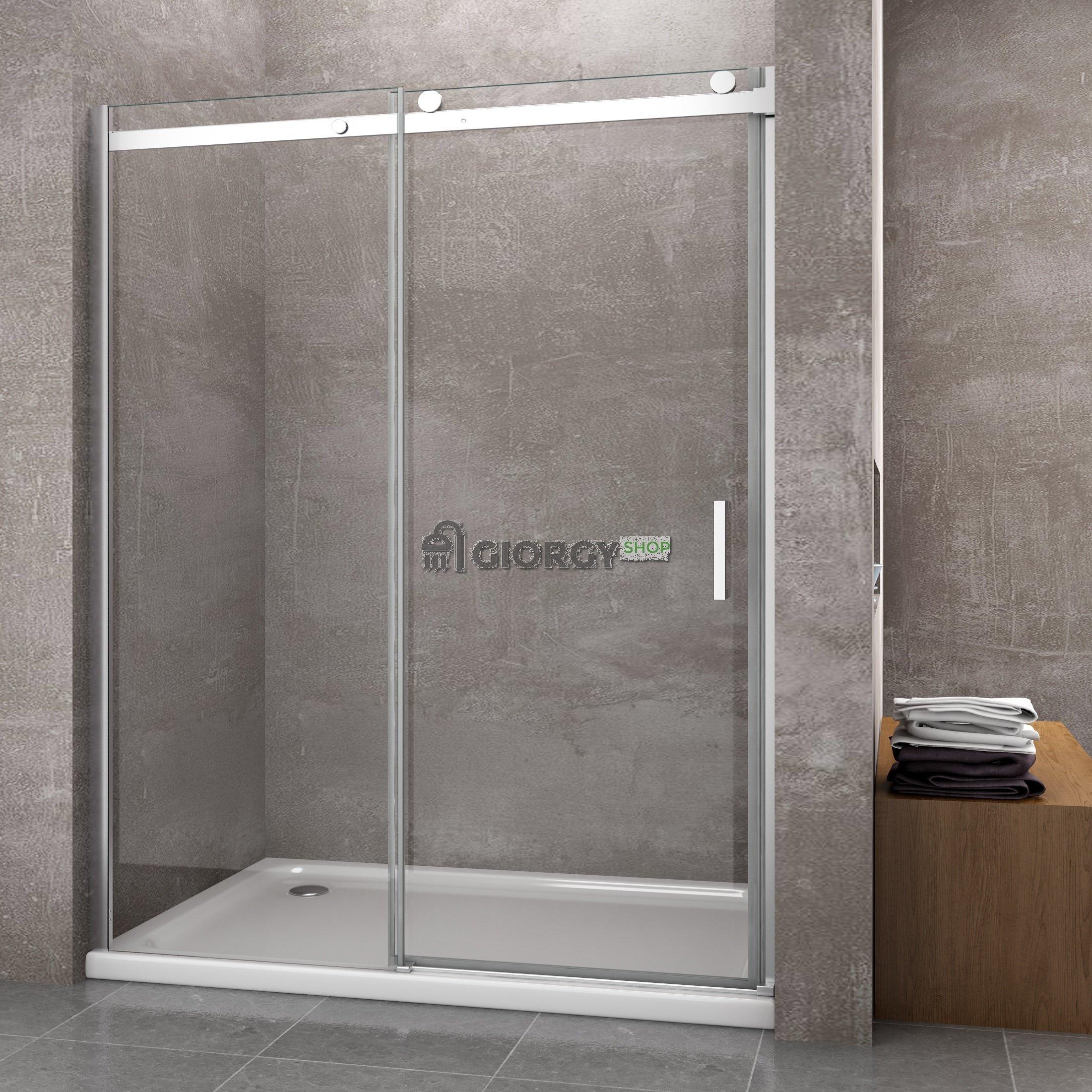 parete box doccia porta scorrevole nicchia