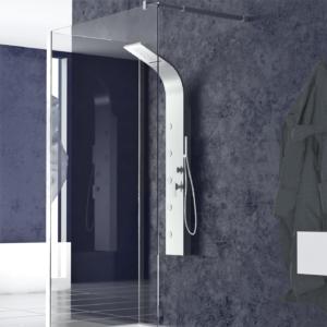 colonna doccia idromassaggio acciaio inox denoiser