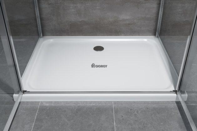 piatto box doccia bianco arredi bagno