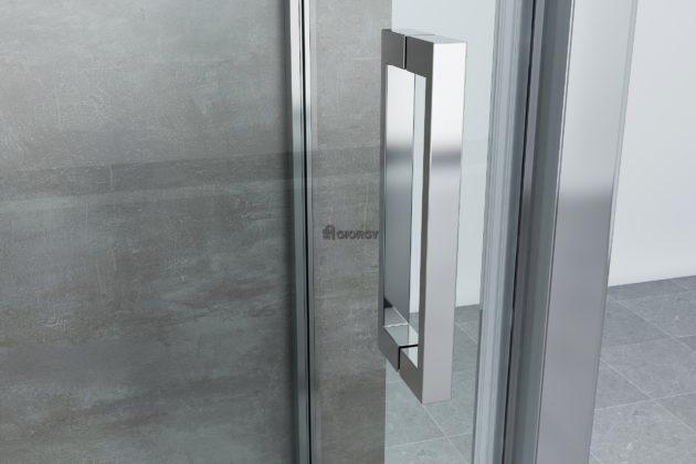 maniglia box doccia alluminio arredo bagno