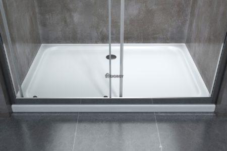 piatto box doccia bianco arredo bagno