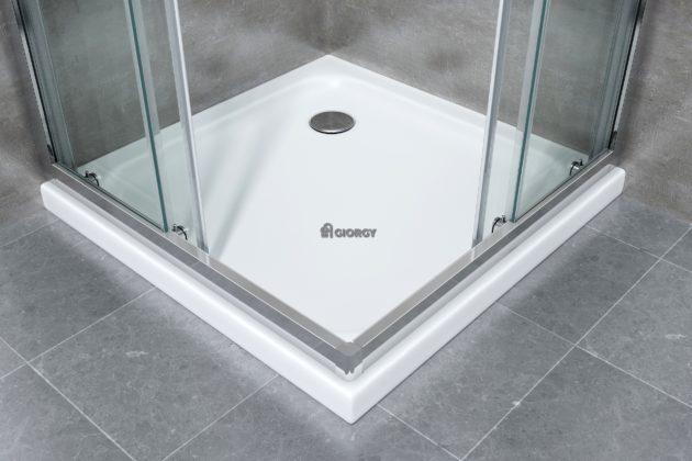 piatto box doccia bianco quadrato arredo bagno