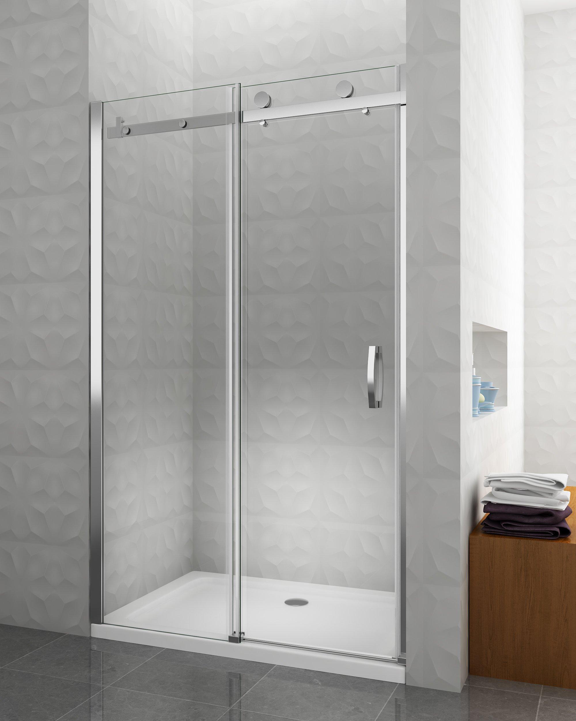 porta box doccia apertura scorrevole installazione nicchia