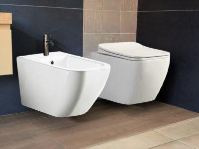 sanitari bagno wc bidet sospesi filo muro
